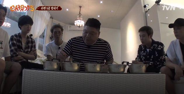 '전설의 6봉 선생' 강호동이 '라믈리에'로