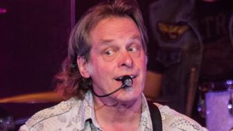 STERLING HEIGHTS, MI - AUGUST 25:  Ted Nugent performs in support of the Rockin America Again! Tour at Michigan Lottery Amphitheatre on August 25, 2017 in Sterling Heights, Michigan.  (Photo by Scott Legato/Getty Images)