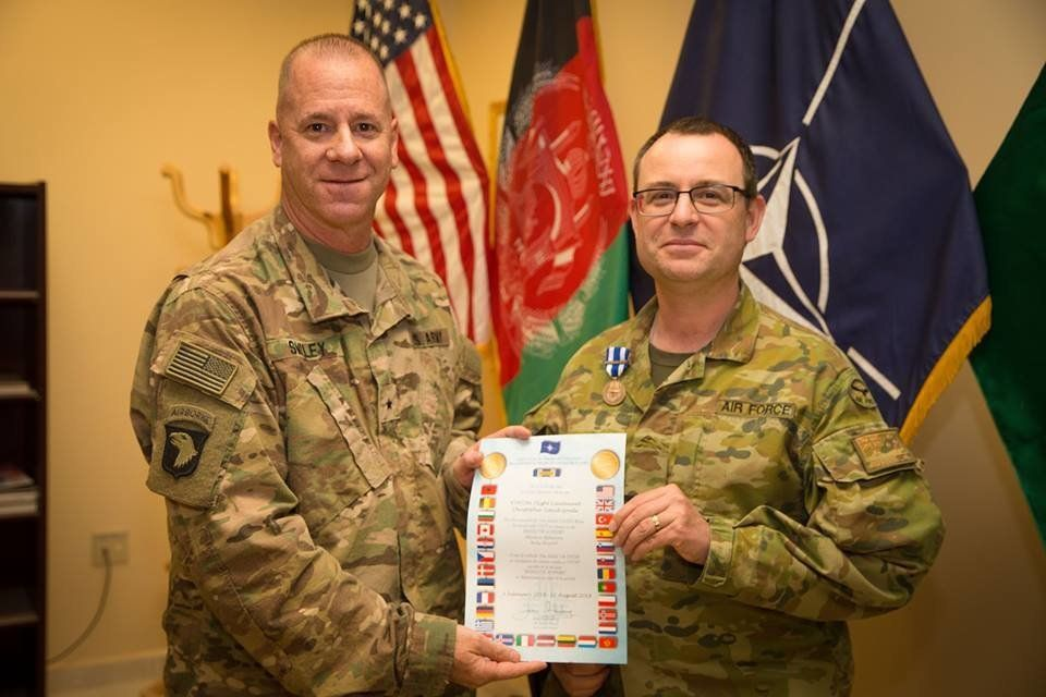 Army Brig. Gen. Jeffrey Smiley was shot during the attack, and two Afghan officials were killed.
