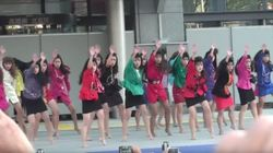 일본 토미오카 고등학교 댄스부가 23일 신작을