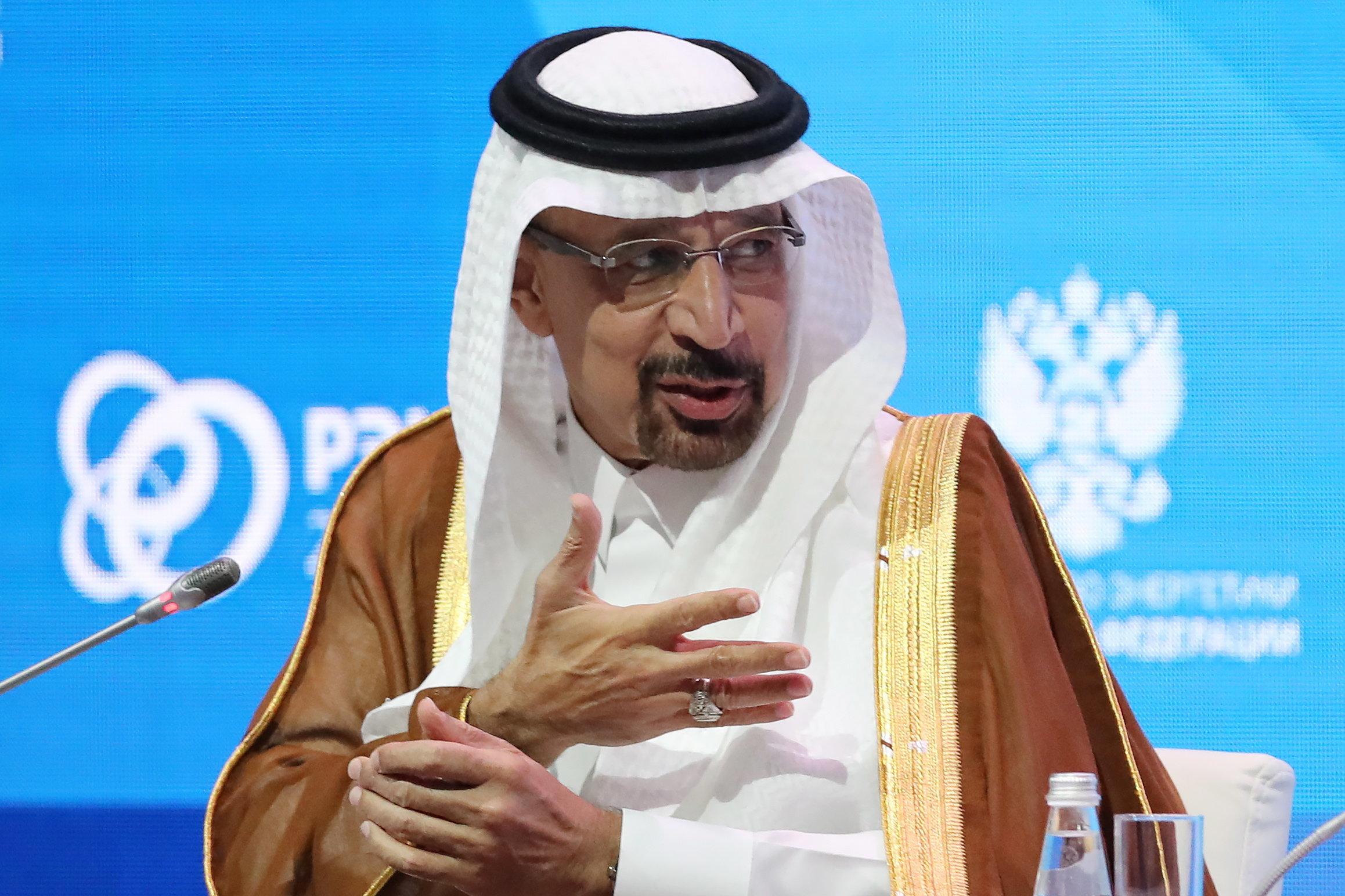 사우디 에너지장관이 '석유를 무기로 쓰는 일은 없다'고