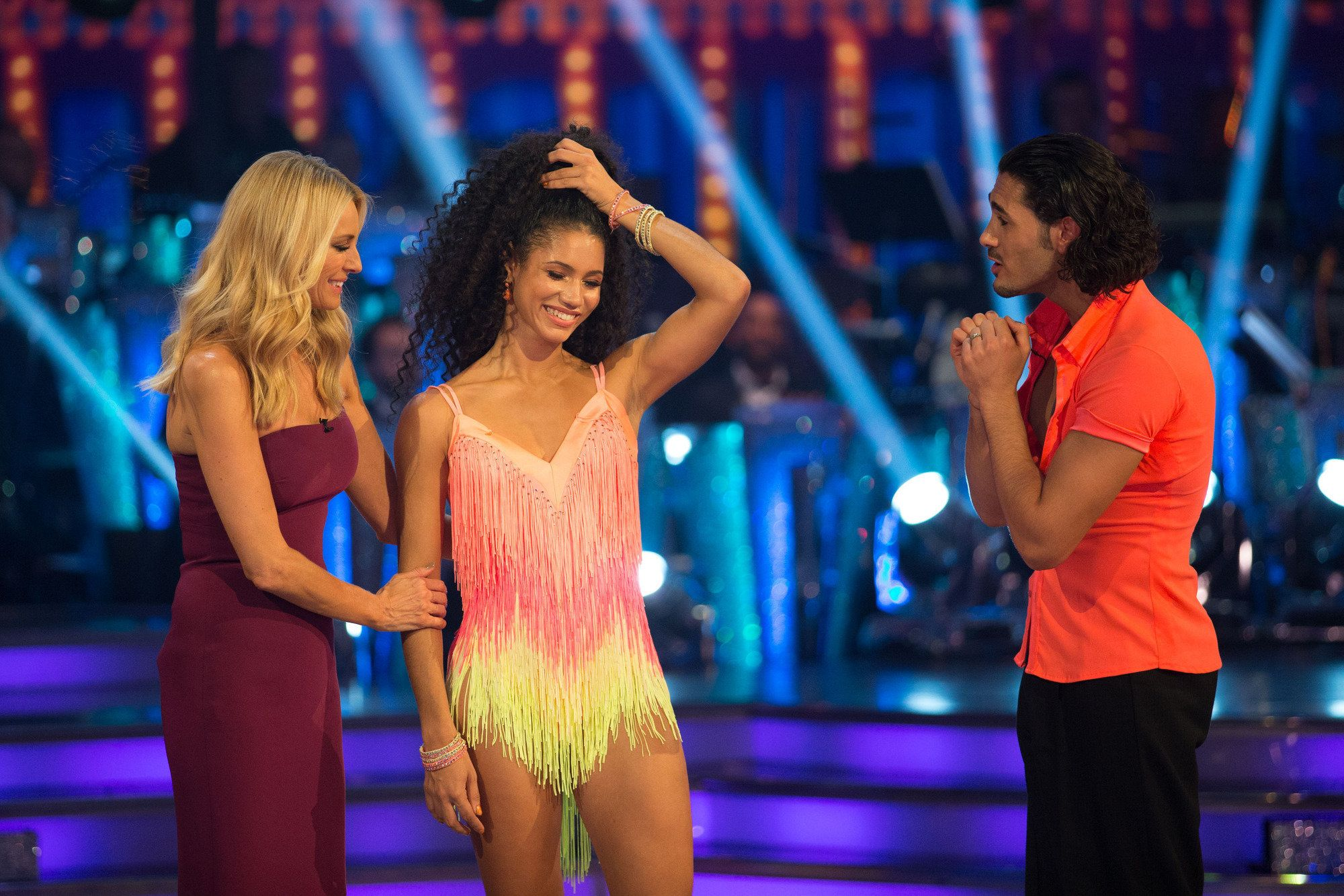 Eliminated Vick Hope Hints 'Strictly' Producers Were Involved In Decision To Save Seann Walsh In
