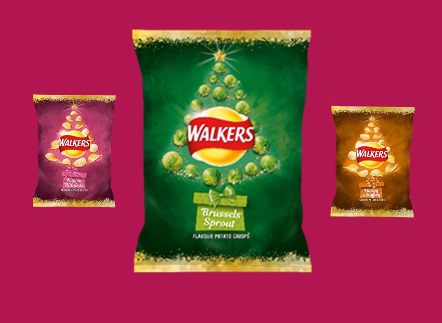 HMMM: Cancel Christmas, Walkers Is Selling Brussels Sprout Flavoured