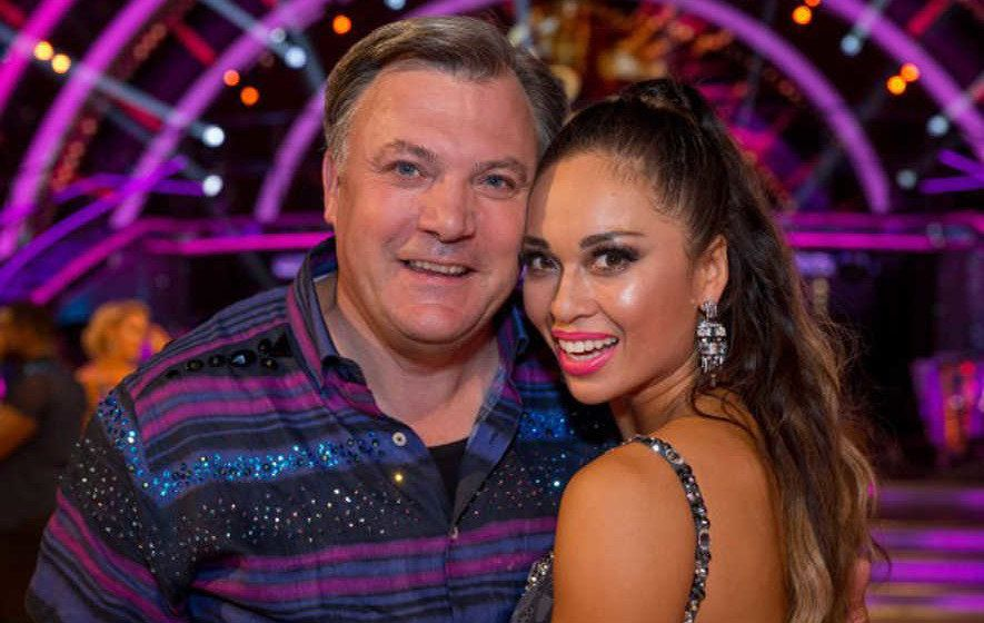 Ed Balls Says Former 'Strictly' Partner Katya Jones Made 'Big Mistake' Kissing Seann