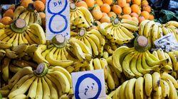 Les prix des fruits (et de l'enseignement) ont connu une hausse au mois de
