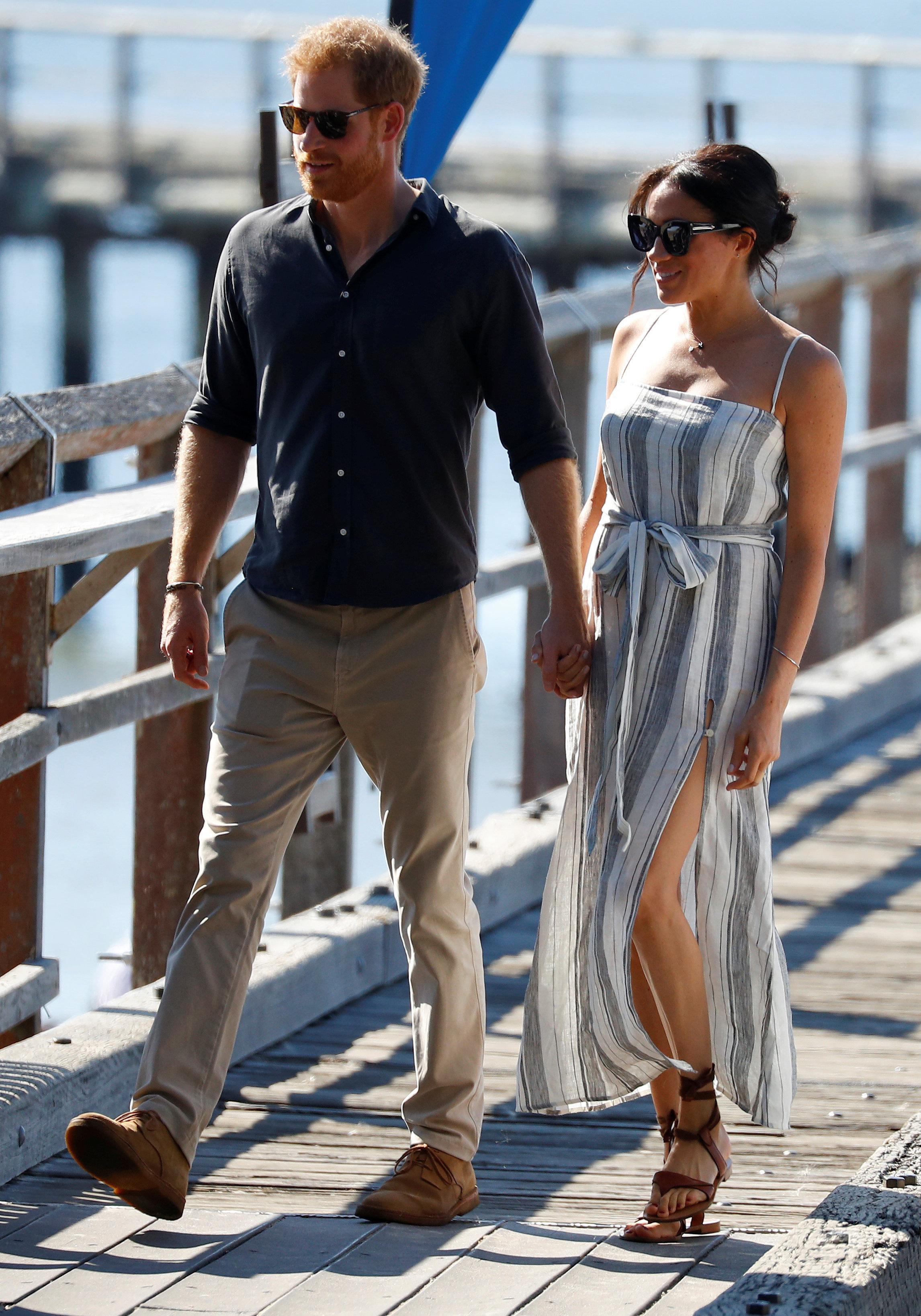 Χάρι και Μέγκαν στην Αυστραλία: Tο σκίσιμο στο φόρεμα και η εξομολόγηση για το φύλο του