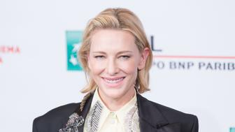 AUDITORIUM PARCO DELLA MUSICA, ROME, ITALY - 2018/10/19: Cate Blanchett during the photocall of the film 'The House With a Clock in Its Walls'. (Photo by Matteo Nardone/Pacific Press/LightRocket via Getty Images)