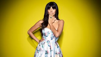 THE GOOD PLACE -- Season: 3 -- Pictured: Jameela Jamil as Tahani -- (Photo by: Andrew Eccles/NBC/NBCU Photo Bank via Getty Images)