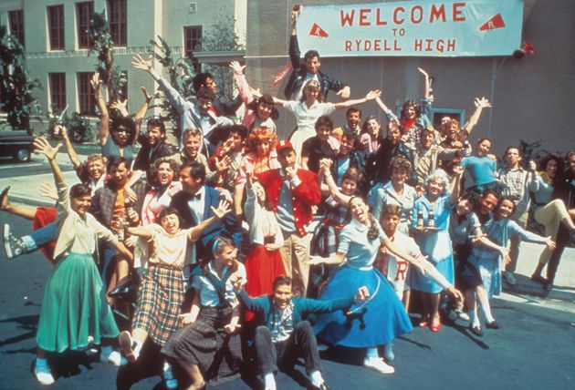 'Grease' used the same school to film in back in