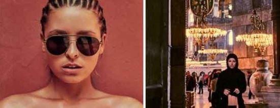 Μοντέλο του Playboy φωτογραφίζεται γυμνή στην Αγιά Σοφιά και σοκάρει