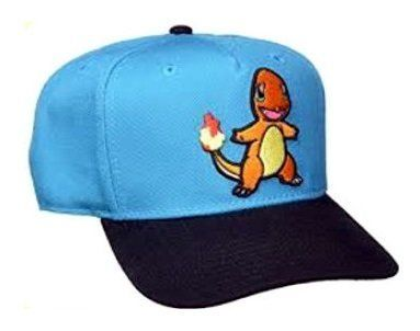 Authorities said Garret Bonkowski was wearing a Pokemon baseball cap, similar to the one pictured, with the character Charman
