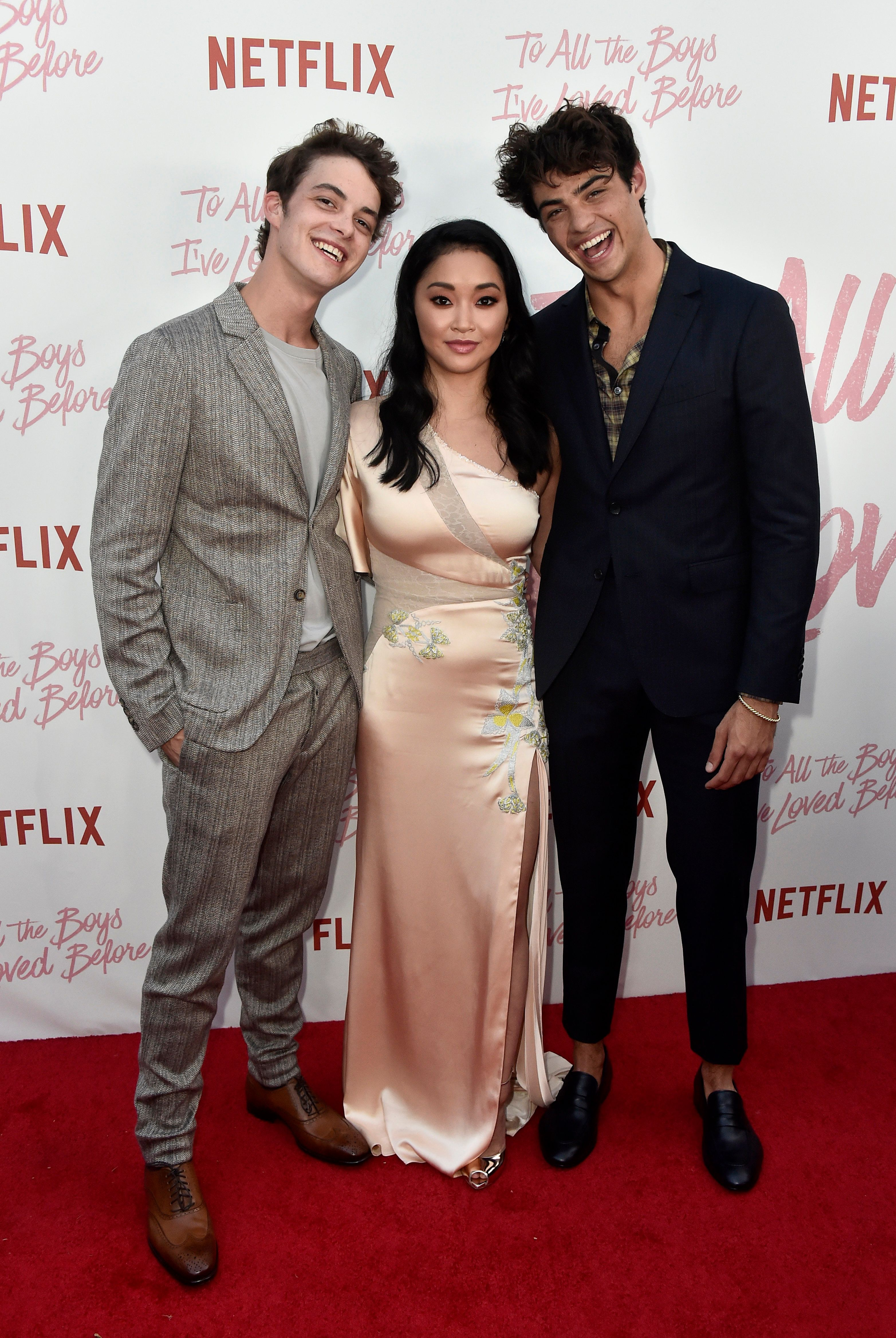 CULVER CITY, CA - AUGUST 16:  Israel Broussard, Lana Condor, Noah Centineo attend the Screening Of Netflix's 'To All The Boys I've Loved Before' at Arclight Cinemas Culver City on August 16, 2018 in Culver City, California.  (Photo by Frazer Harrison/Getty Images)
