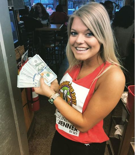 Alaina Custer, a waitress at Sup Dogs in Greenville, N.C., received a $10,000 tip from a customer who only ordered two waters.