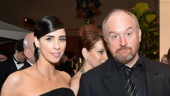Sarah Silverman and Louis C.K. attend the 88th Annual Academy Awards Governors Ball at The Hollywood & Highland Center in Hollywood, California, on February 28, 2016. / AFP / ANGELA WEISS        (Photo credit should read ANGELA WEISS/AFP/Getty Images)