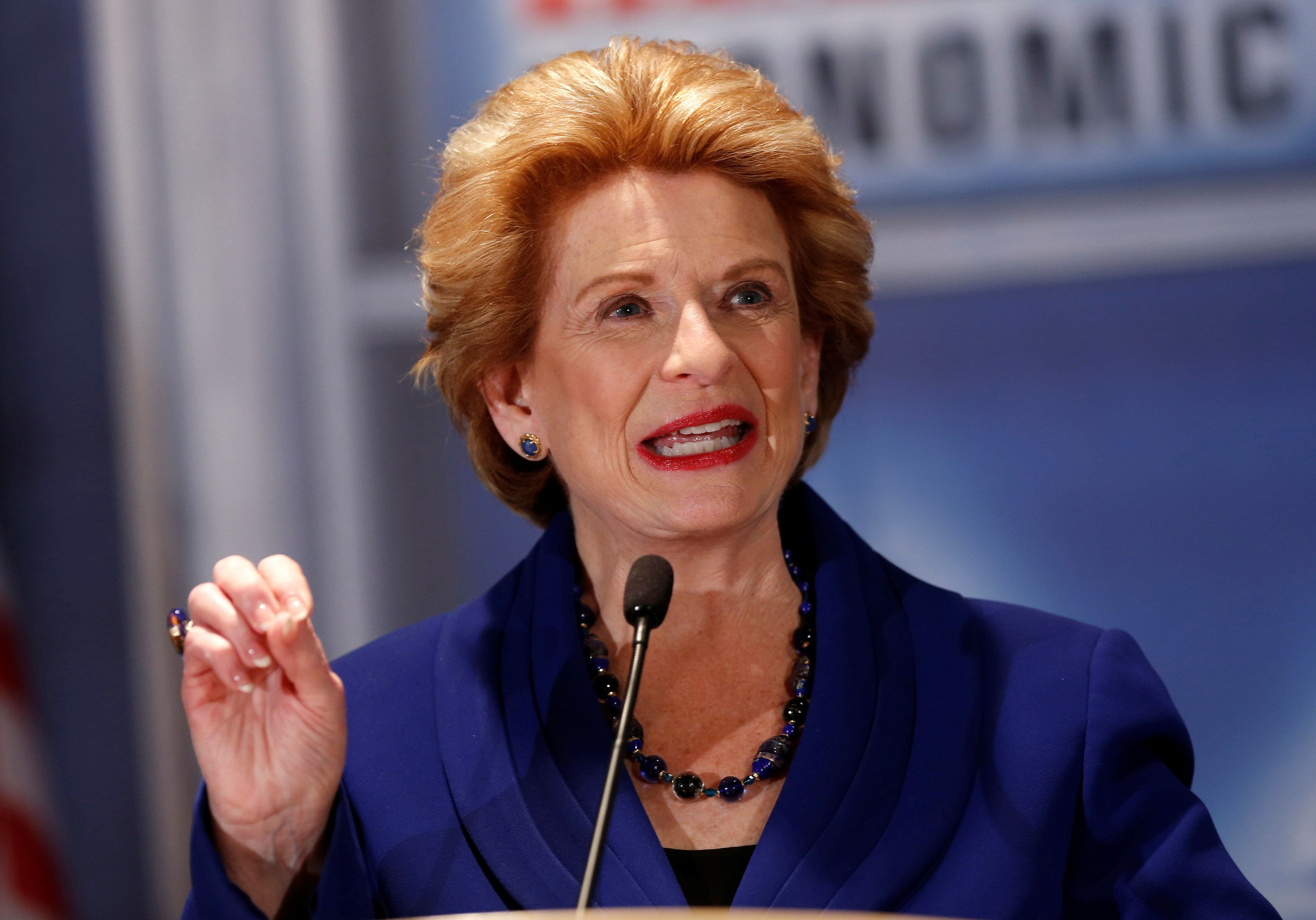 Michigan Sen. Debbie Stabenow is running for re-election in November.