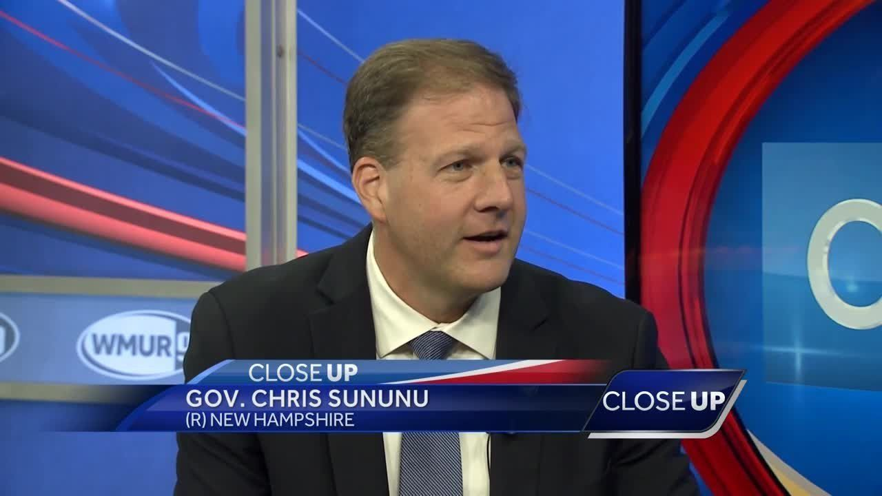 Republican Gov. Chris Sununu says he's ready to make the case for re-election.