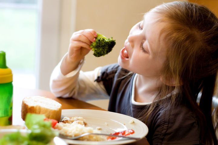 Vegetables like broccoli, carrots and even Brussels sprouts feature in many nutritionists' family dinners.