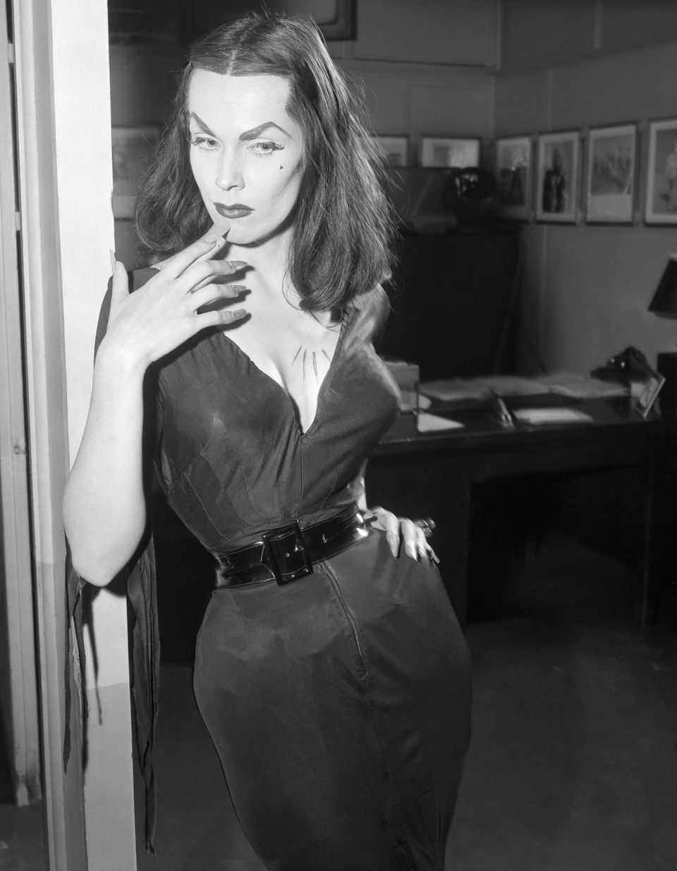 "Vampira, the campy 1950s TV personality played by Maila Nurmi, has been dubbed the ""<a href=""https://www.amazon.com/exec/obid"