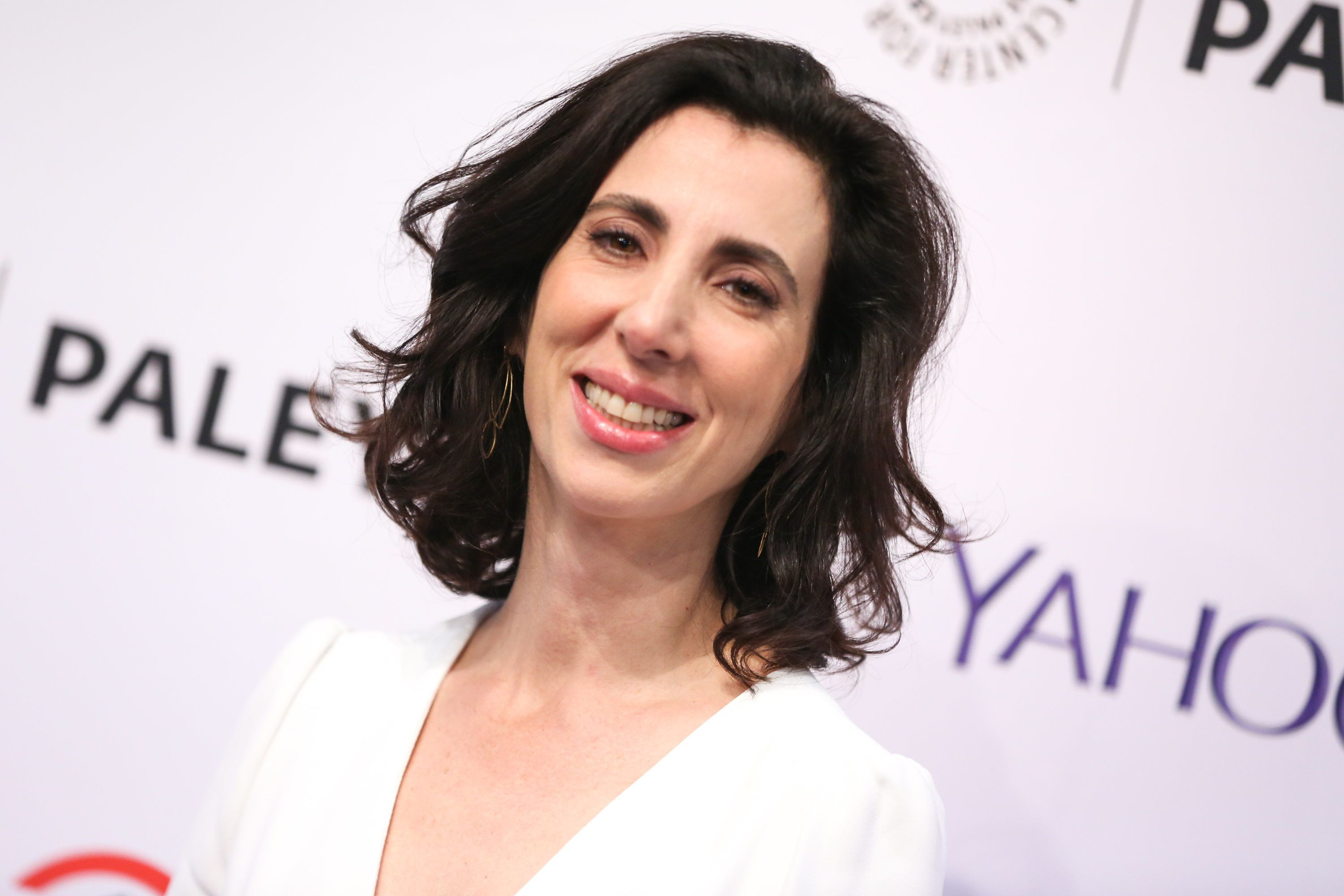 Aline Brosh McKenna arrives at the at 2015 PaleyFest Fall TV Previews at The Paley Center for Media on Monday, Sept. 14, 2015, in Beverly Hills, Calif. (Photo by Rich Fury/Invision/AP)