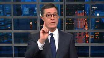 Milk does a body good, as the old slogan roughly goes, but Stephen Colbert