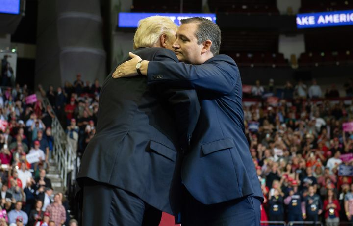 Donald Trump And Ted Cruz Seal Alliance In Texas After ...