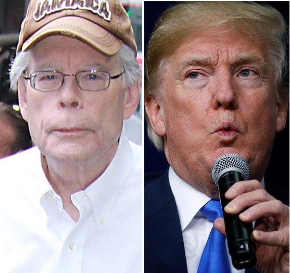 Stephen King and Donald Trump