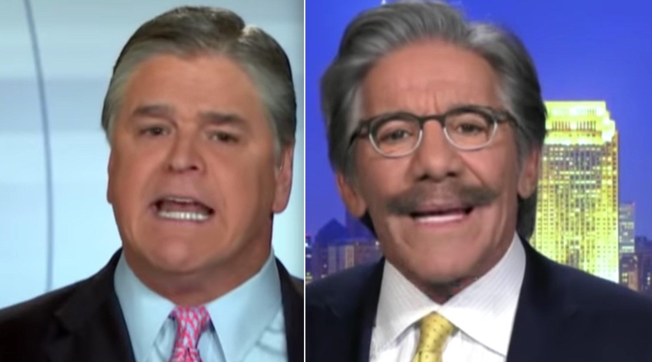 Sean Hannity, Geraldo Rivera