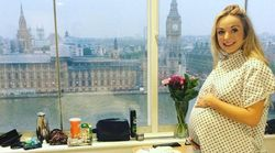Call The Midwife's Helen George Posts Throwback Pregnancy Snap To Raise Awareness of