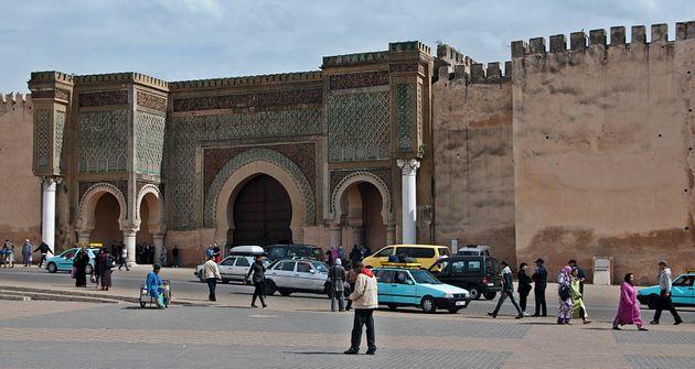 Bab Mansour à