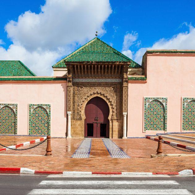 Le mausolée de Moulay Ismaïl à