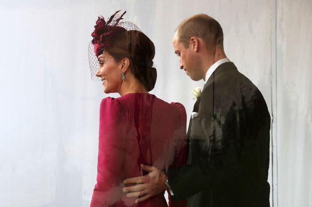 Prinz William und Herzogin Kate bei der Hochzeit von Prinzessin