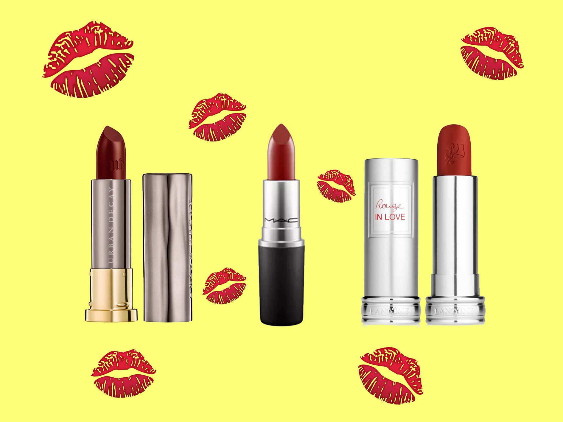 Dark Red Lipsticks To Get You In The Mood For