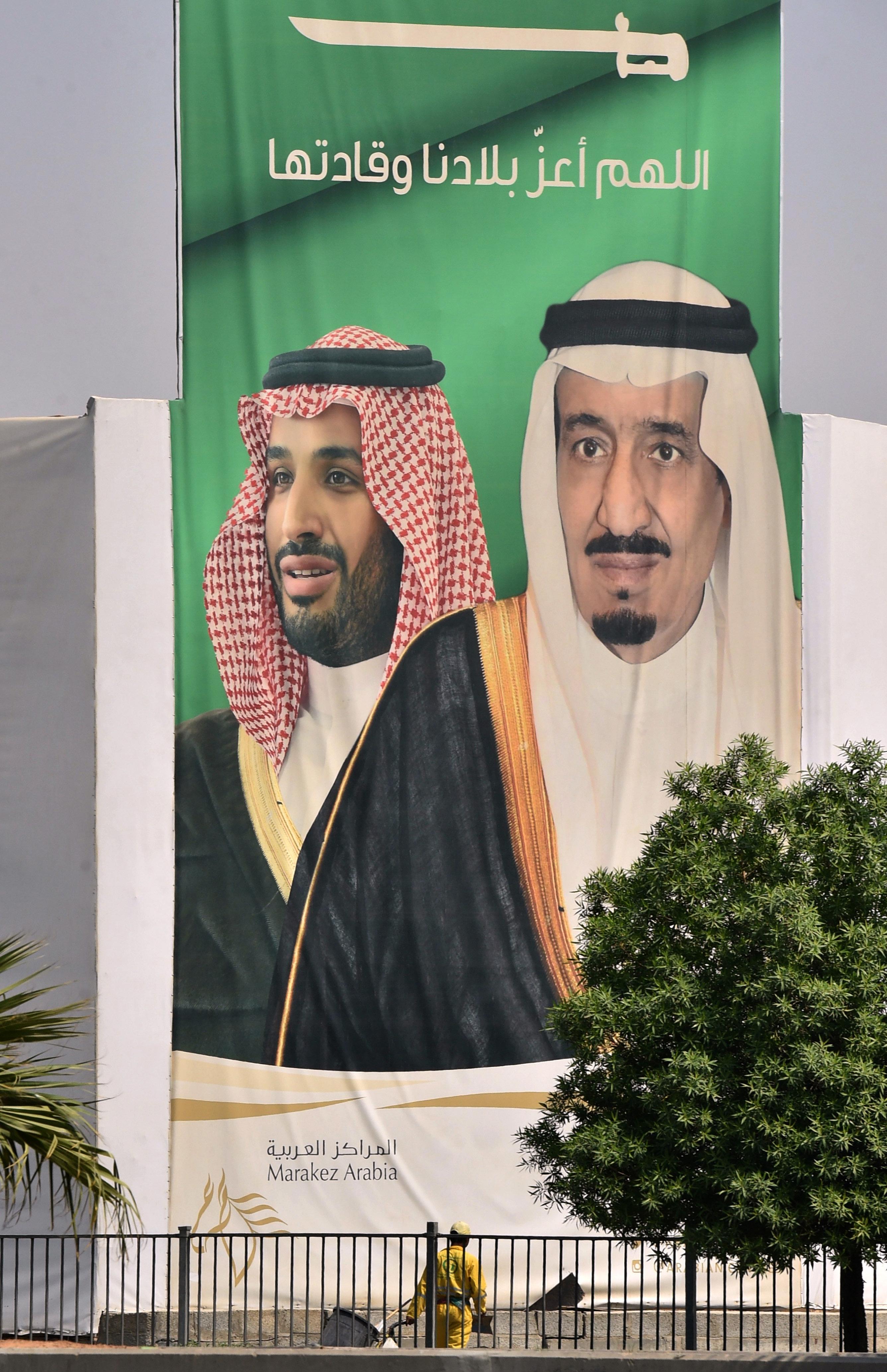 Ο βασιλιάς και ο πρίγκιπας διάδοχος της Σ. Αραβίας συναντήθηκαν με τον γιο του