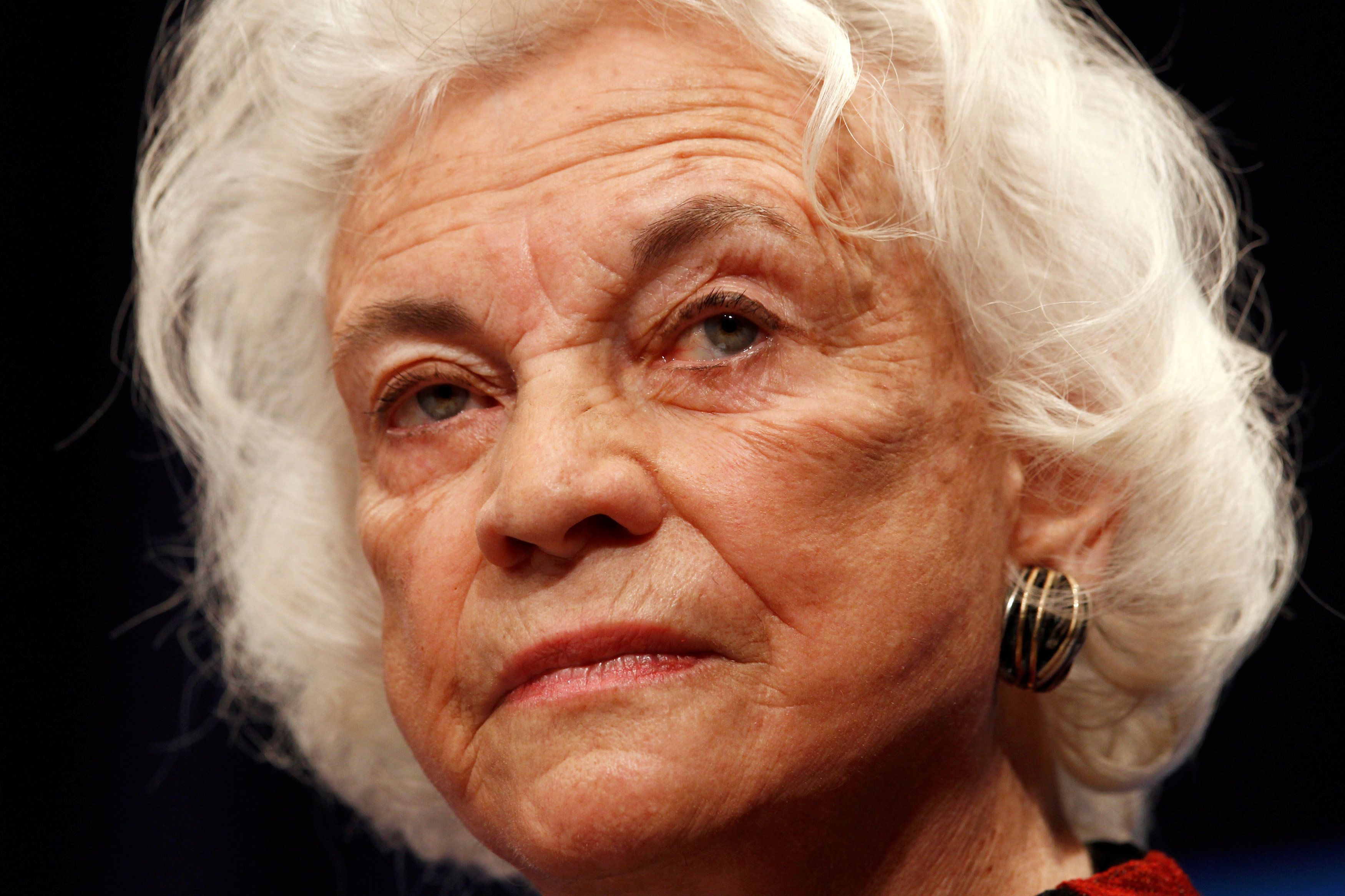 Sandra Day O'Connor, Former Supreme Court Justice, Announces Dementia Diagnosis