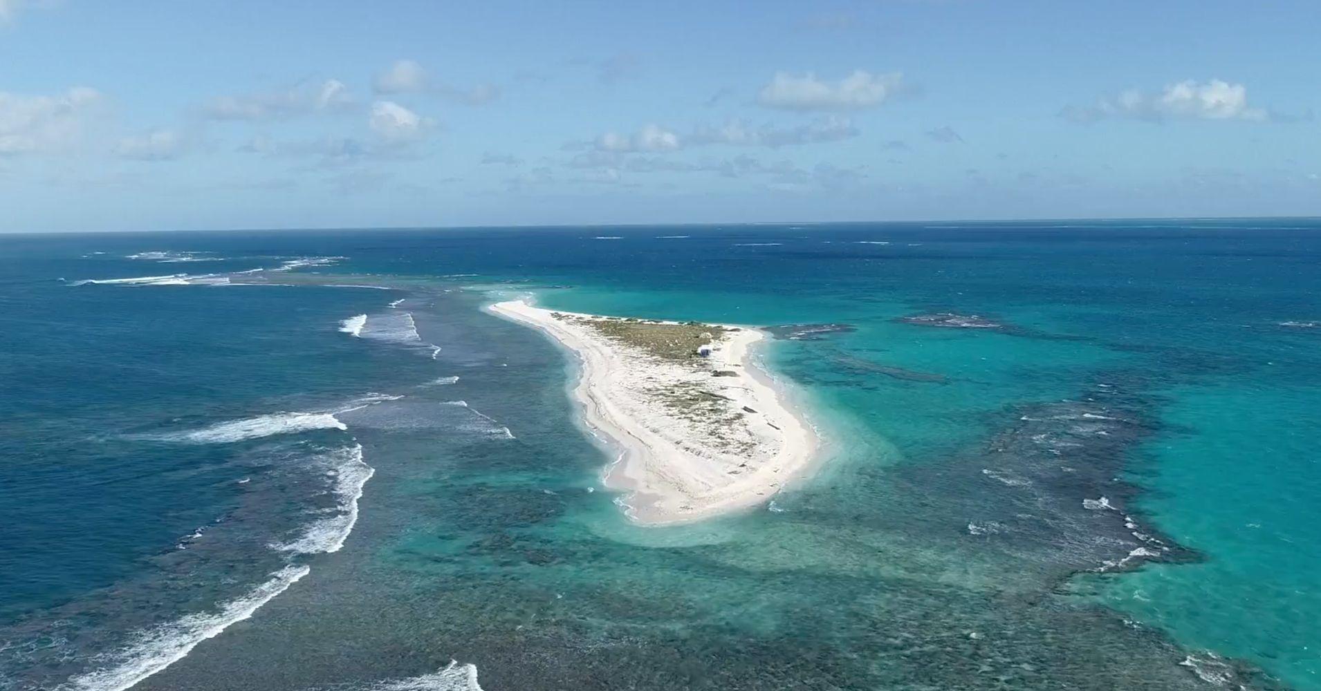 Remote Hawaiian Island...