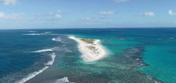 East Island was the second-largest islet in the French Frigate Shoals, an atoll in the remote northwestern Hawaiian Islands.