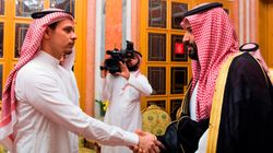 Jamal Khashoggi's Son Meets Saudi King And Crown Prince In Disgraceful Photo