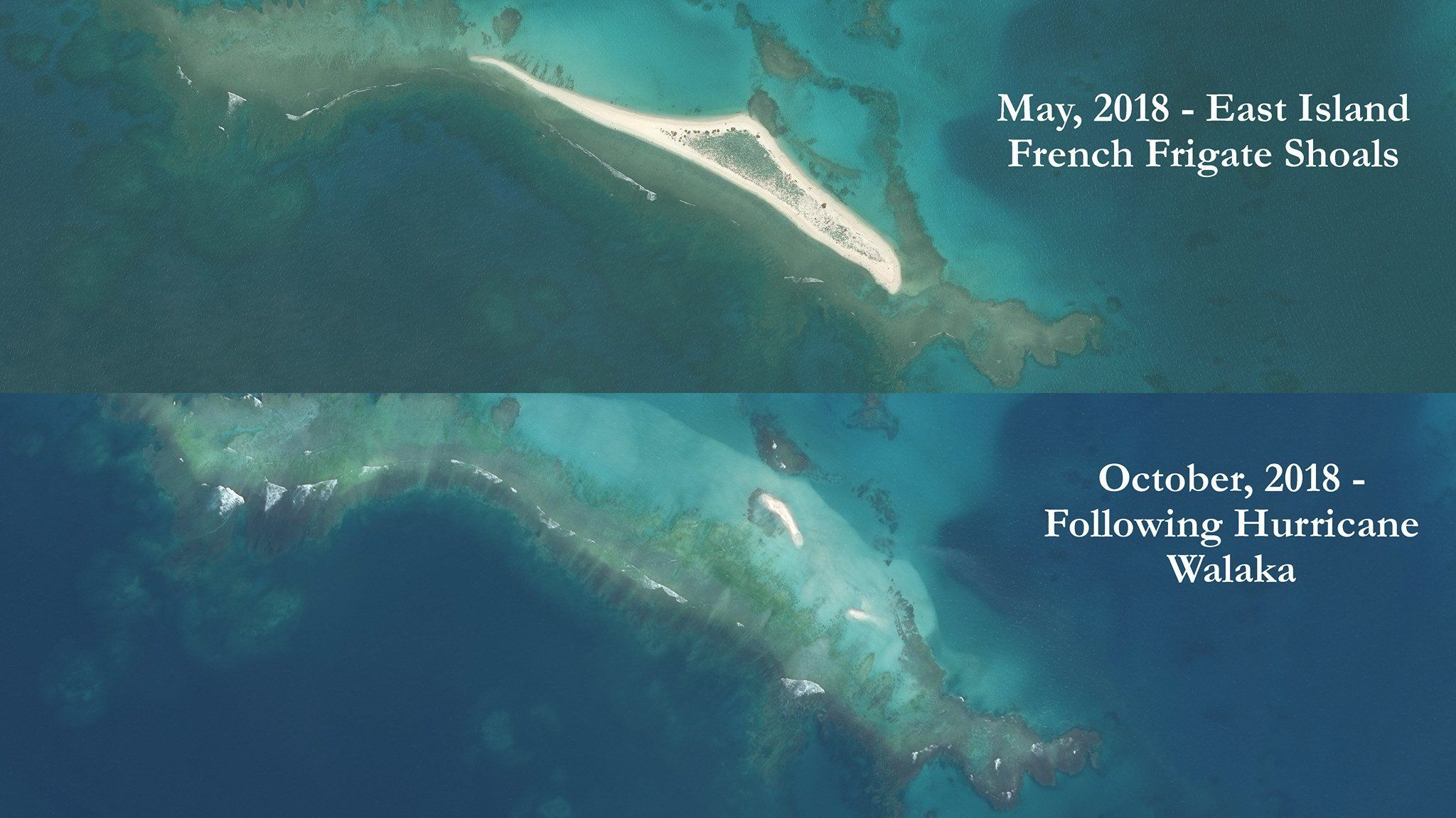 An entire Hawaiian island has vanished beneath the waves