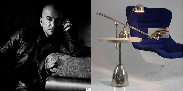 Collection Flow: Table connectée UNIO.6 et bras modulable avec porte tablette et lampe UNIO,...