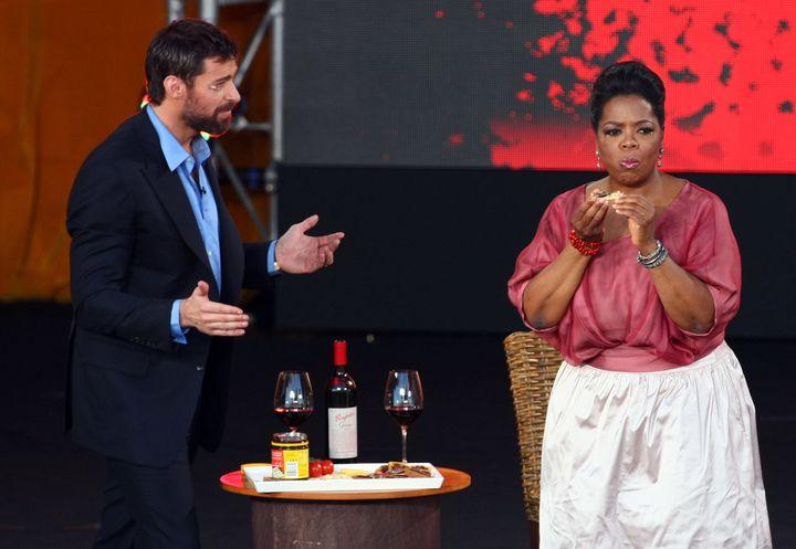 Even Oprah Winfrey isn't so sure about Vegemite. If Hugh Jackman can't convince you ...