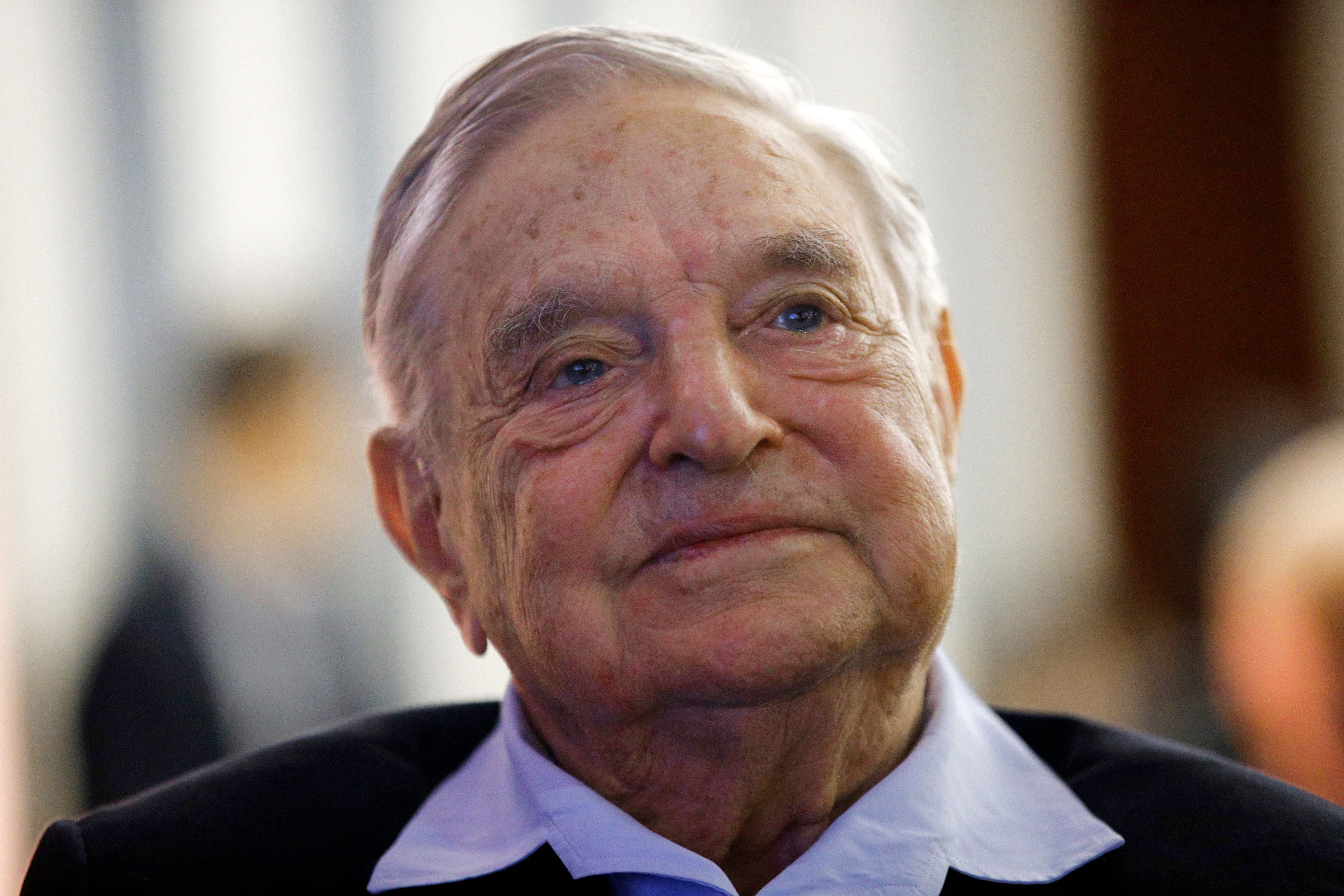 On Monday evening, law enforcement responded to a bomb in the mailbox of George Soros' home in...