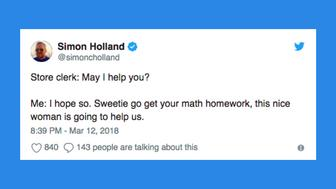 These tweets go out to all the parents who have ever struggled while helping their kids with their homework.