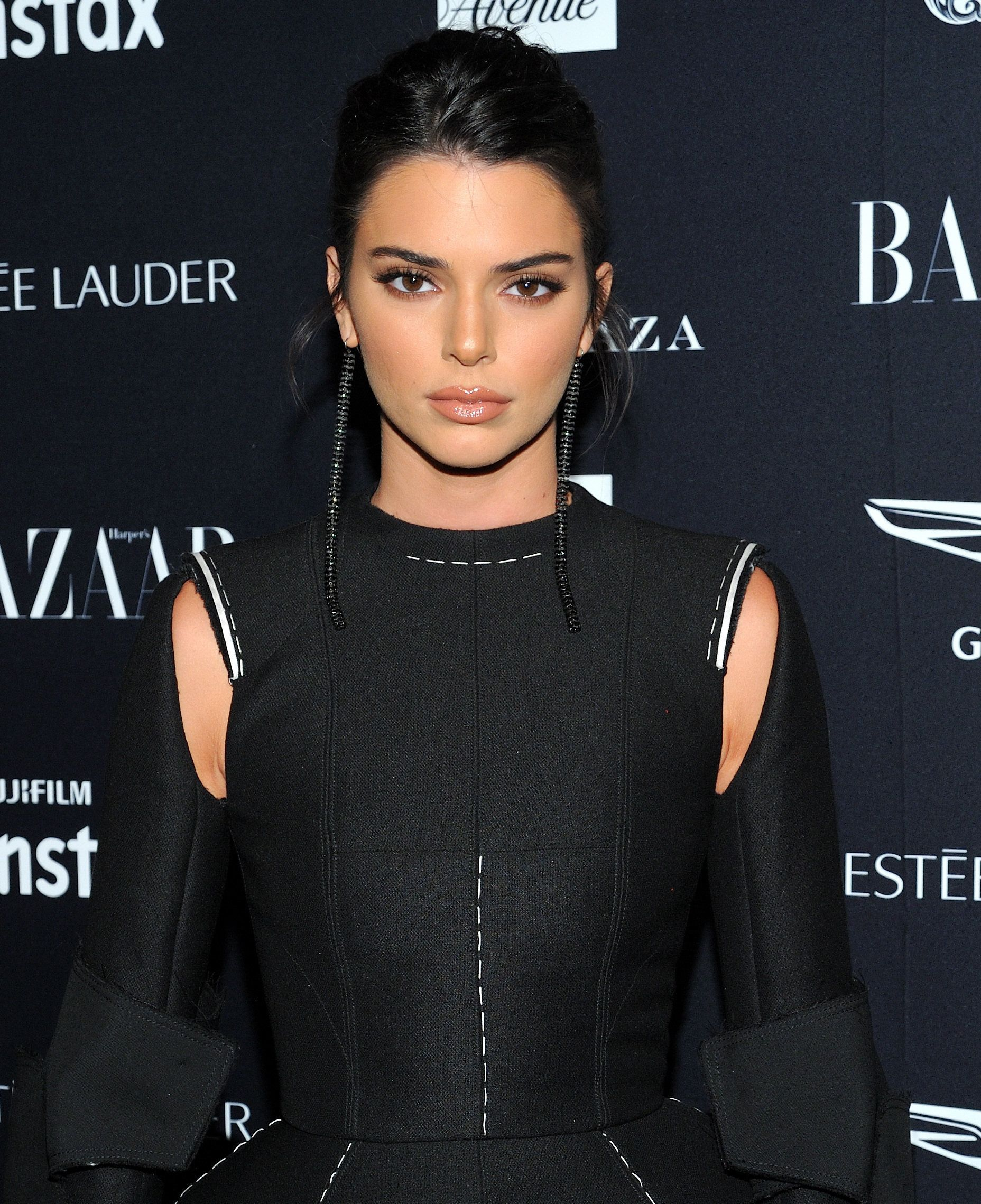 Kendall Jenner attends the Harper's Bazaar Icons by Carine Roitfeld event at The Plaza Hotel in New York, NY on September 7, 2018. (Photo by Stephen Smith/SIPA USA)