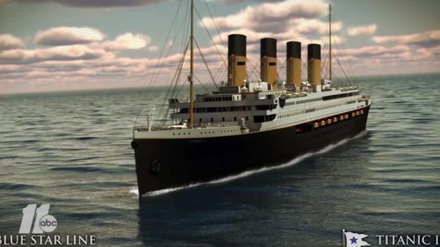 Ο «Τιτανικός 2», το αντίγραφο του Τιτανικού, αναμένεται να πλεύσει το