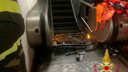 Τραυματίες από κατάρρευση κυλιόμενης σκάλας στο μετρό της