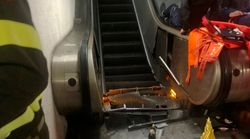 Terrifying Video Shows Out-Of-Control Escalator That Injured At Least