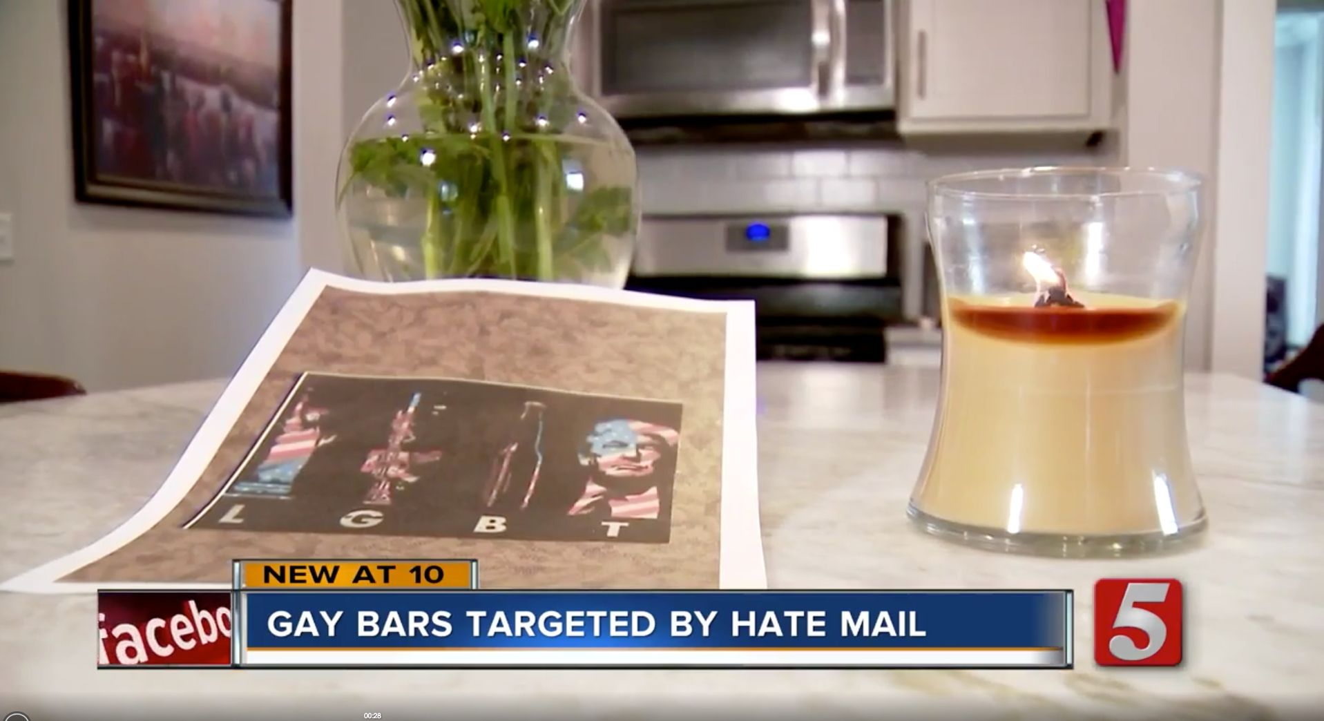 At least four gay bars in Nashville reportedly received pro-Trump, threatening mail last week.
