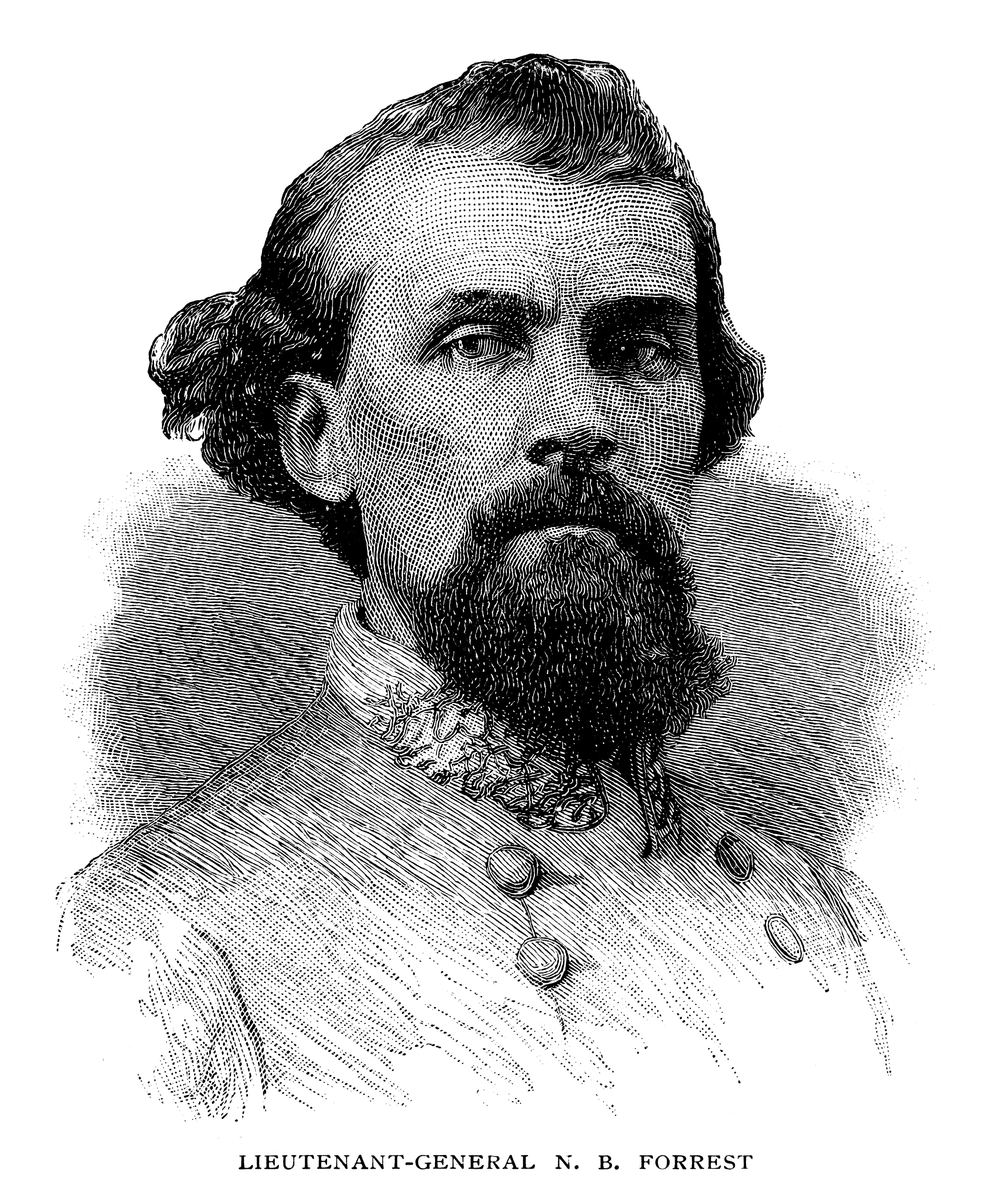 Nathan Bedford Forrest was a Confederate general and grand wizard of the KKK.