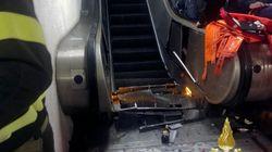 로마 지하철역 에스컬레이터 사고로 20명이