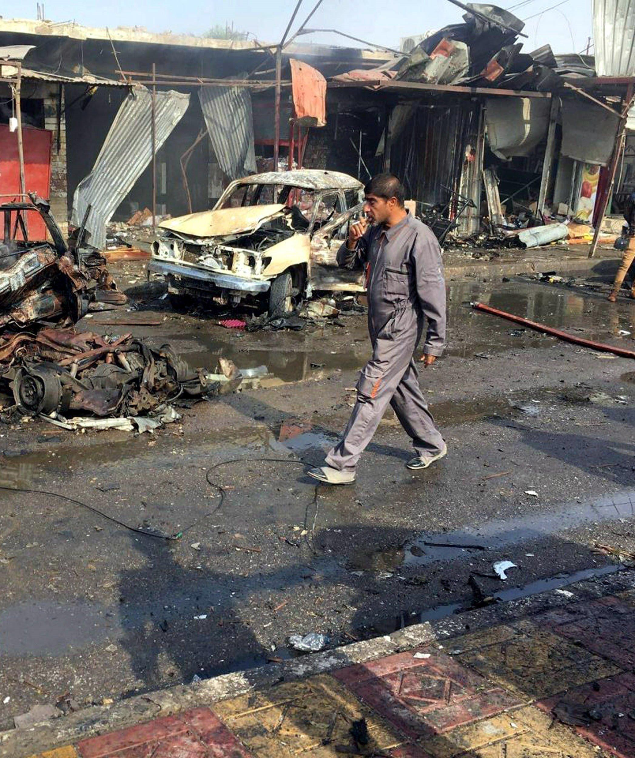 Ιράκ: Έξι νεκροί και σχεδόν 30 τραυματίες σε βομβιστική επίθεση νότια της
